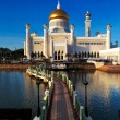 Stock Photo: Sultan Omar Ali Saifuddien Mosque in Brunei