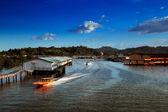 Brunei's famed water village — Stock Photo