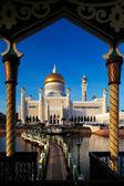 Sultan Omar Ali Saifuddien Mosque in Brunei — Stock Photo