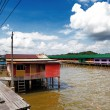 Brunei's famed water village — Stock Photo