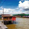 Brunei's famed water village — Stock Photo #22701365