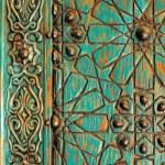 A detail of an ancient ottoman door — Stock Photo