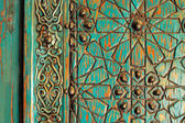 Ein detail der einen alten osmanischen tür — Stockfoto