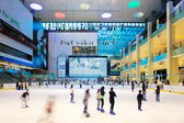 The ice rink of the Dubai Mall, UAE — Stock Photo