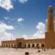 The Sheikh Muhammad Ibn Abdul Wahhab State Mosque of Qatar — Stock Photo