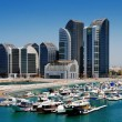 Al Bateen Marina, Abu Dhabi, UAE — Stock Photo