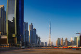 Business Bay Dubai, UAE is a mixed use development — Stock Photo
