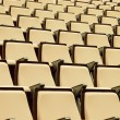 A beautiful pattern of auditorium seats — Stock Photo