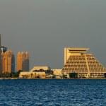 Постер, плакат: Doha Qatar: The skyline of the capital is ever changing