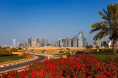 QP District, Situated in the West Bay area of Doha, Qatar — Stock Photo