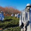 The Korean War Veterans Memorial in Washington DC, USA — Stock Photo #39628671