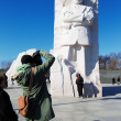 Stock Photo: Martin Luther King, Jr. Memorial in Washington DC, USA