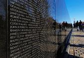 The Vietnam Veterans Memorial in Washington DC, USA — Stock Photo