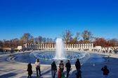 The U.S. National World War II Memorial in Washington DC, USA — Stock Photo