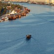 Постер, плакат: The Creek with Bur Dubai area of Dubai UAE