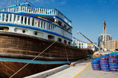 Deira Creek is a trading hub between Iran and The Arabian Peninsula — Stock Photo