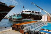 Deira Creek is a trading hub between Iran and The Arabian Peninsula — Stock Photo