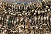 Tradycyjnej biżuterii srebrnej z południowej półwyspu arabskiego — Zdjęcie stockowe