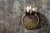 Gioielli tradizionali in argento dalla penisola arabica meridionale — Foto Stock