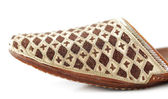 Traditional Arabic slippers — Stock Photo