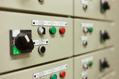 Sophisticated electrical switch gear — Fotografia Stock