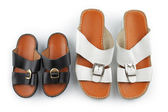 Traditional Arabic sandals — Stock Photo