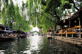 Zhouzhuang in China is known as the Venice of the East — Stock Photo