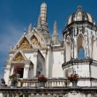 White pagoda in Phra Nakhon Khiri Historical Park — Stock Photo