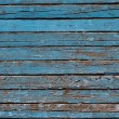 Decrepit blue Old Wood Background — Stock Photo