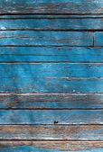 Decrepit blue Old Wood Background — Stock Photo