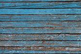Decrépito fundo azul de madeira velho — Fotografia Stock