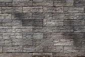 Gray brick wall texture — Stock Photo