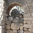 Stock Photo: Archway in brick stone wall