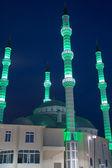 Moschea di notte — Foto Stock