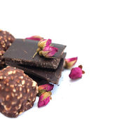 Chocolate, chocolate candy for Valentine's Day — Stock Photo
