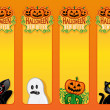 Halloween New Offer, vertical labels — Stock Vector #13704350
