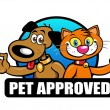 Pet Approved Seal — Stock Vector #13704570