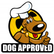 Stock Vector: Dog Approved Seal