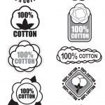 100% Cotton Seal Collection — Stock Vector #13704668