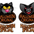 Stock Vector: Halloween Original Special Characters Seal