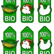 Royalty-Free Stock Vector Image: Bio Labels