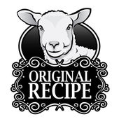 Original Recipe Lamb Seal — Stock Vector