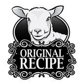 Original Recipe Lamb Seal — Stock Vector