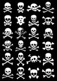Skulls & Crossbones — Vector de stock