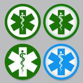 Símbolo de emergencia — Vector de stock