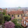 Beautiful view of Prague - Stock Photo
