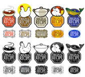 Original Recipe Seals Collection — Stock Vector
