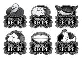 Original Recipe Royal Collection — Stock Vector