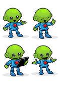 Alien Character — Stock Vector