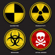 Royalty-Free Stock Vector Image: Hazard Symbols & Signs